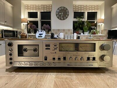 £330 • Buy Aiwa AD-6700k Stereo Cassette Deck - Tested+Working - Japan Vintage A1 Condition