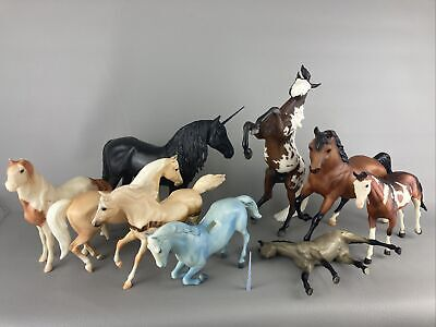 £29.78 • Buy Breyer Horse Customizing Lot  Silver Duende Unicorn Traditional/Classic 9 Modles