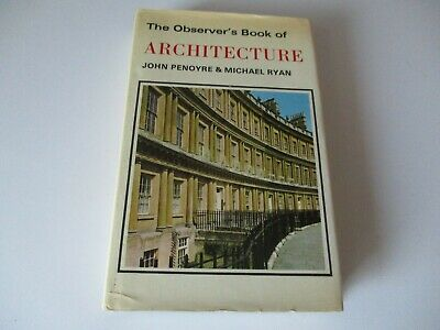 £3.99 • Buy The Observer's Book Of Architecture - 1975