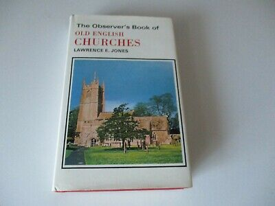£4.25 • Buy The Observer's Book Of Old English Churches - 1973