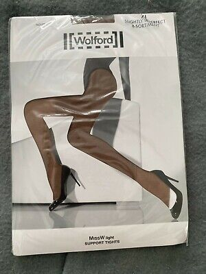 £9.99 • Buy Wolford Miss W Light Support Tights XL Colour Diamant