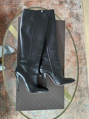 £250 • Buy Gucci Boots Size 38 Black Leather