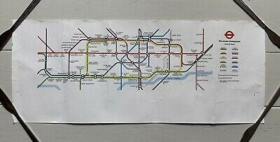 £18 • Buy London Underground / Tube - Paper Car / Carriage Map - 1979/1980