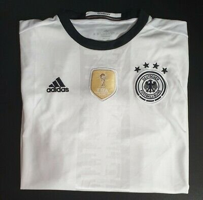 £10 • Buy Germany 2016 Home Shirt With World Cup Winners Patch XXL