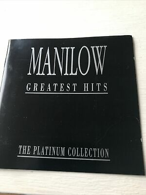 £0.99 • Buy Barry Manilow - Manilow - Greatest Hits - The Platinum Collection - Cd