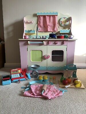 £30 • Buy Early Learning Centre Wooden Cottage Kitchen And Kitchen Accessories/ Bundle