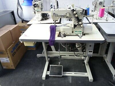 £1595 • Buy Yamato Industrial Coverstitch, Hemming Machine Fully Auto Vc2700 Fully Serviced