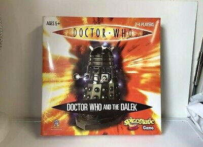 £3.95 • Buy Doctor Who And The Dalek Spinomatic Board Game (like Frustration)