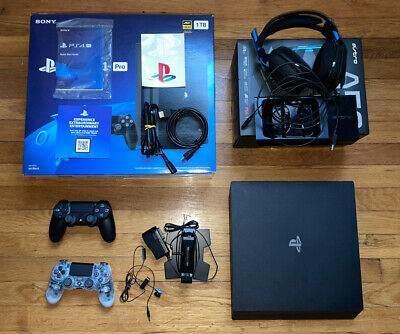 AU330.48 • Buy Sony Playstation 4 PS4 Pro Bundle With Upgraded 1TB SSD Drive Astro A-50 Headset