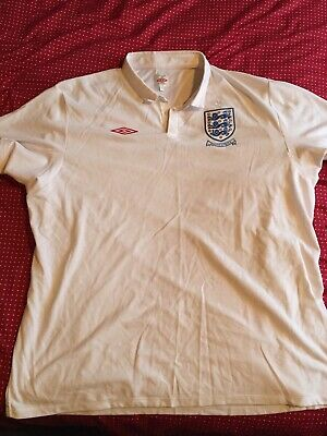 £30 • Buy Official 2010 Umbro England Football Home Shirt South Africa World Cup Size 52