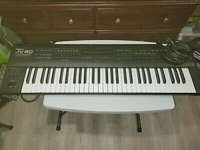 AU732.31 • Buy Jv-80 Electric Piano With Flight Case