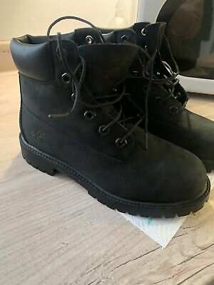 £21.50 • Buy Ladies Black Timberland Boots Size 4 Good Condition