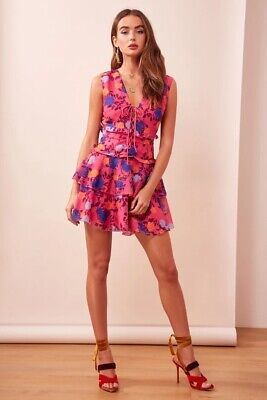 AU65 • Buy Finders Keepers Visions Mini Dress - Size XS - Pink