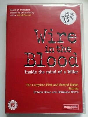 £2.99 • Buy Wire In The Blood Dvd Inside The Mind Of A Killer 1st & 2nd Series Robson Green