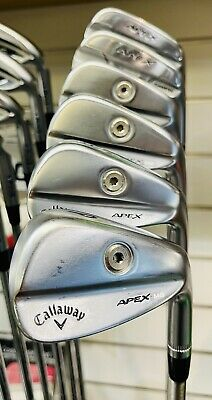 AU1599.94 • Buy Callaway Apex 21 Pro/mb Elite Irons Golf Clubs Steelfiber Shaft 24 Hour Delivery