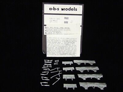 £14 • Buy ABS 4mm Scale OO/EM/P4 GWR 4 Plank Open Wagons (2 Kits)