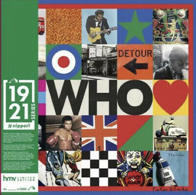 £22.99 • Buy THE WHO Self Titled / Greatest Hits HMV Exclusive 1921 SERIES #Nipper 1 Sealed