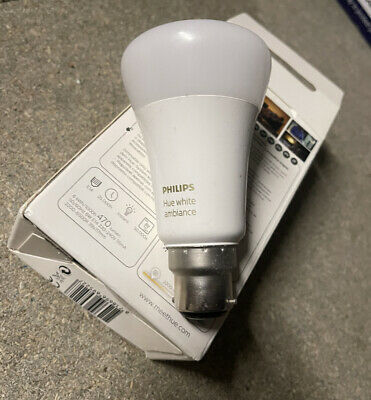AU40.44 • Buy Philips Hue White And Colour B22 Used