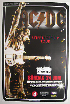 $29.95 • Buy Ac/dc Swedish Concert Tour Poster 2001 Stiff Upper Lip Angus Malcolm Young