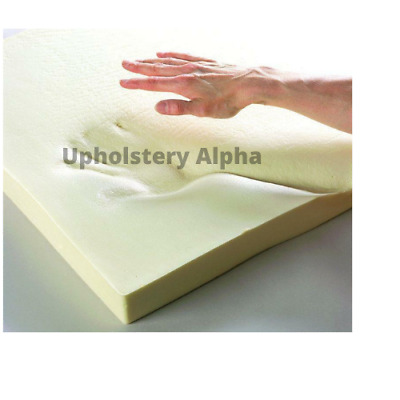 £5.99 • Buy Upholstery 100% Orthopaedic Memory Foam Toppers Mattress Sofas Cut To All Sizes