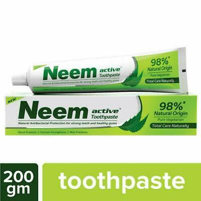 £9.99 • Buy Neem Active Toothpaste, Prevents Cavities ,germ-fighting - 200g - Free Shipping