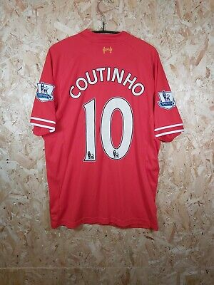 £11.95 • Buy Liverpool Home Shirt By Warrior / Coutinho 10 / Size Large / VGC