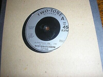 £5.99 • Buy Bodysnatchers Let's Do Rock Steady / Ruder Than You Two Tone 1980