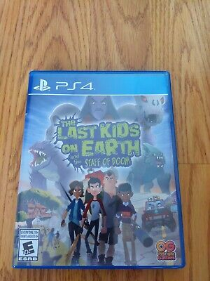 AU33.38 • Buy Last Kids On Earth And The Staff Of Doom (PlayStation 4, Physical)