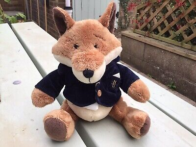 £65 • Buy Extremely Rare Harrods Fox From Their 'hedgerow Collection'