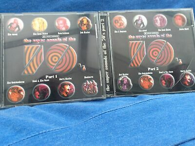 £4 • Buy The Super Sounds Of The 70's  - Various Artists  Original CD Parts 1 & 2