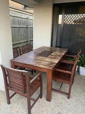 AU300 • Buy Outdoor Timber Dining Table Setting Buffet