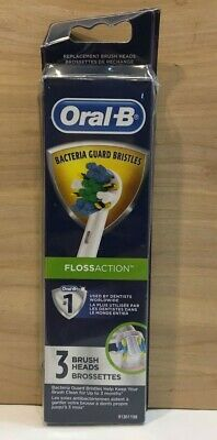 AU20.02 • Buy Oral-B  Floss Action  Electric Toothbrush Replacement Brush Heads - 3ct -