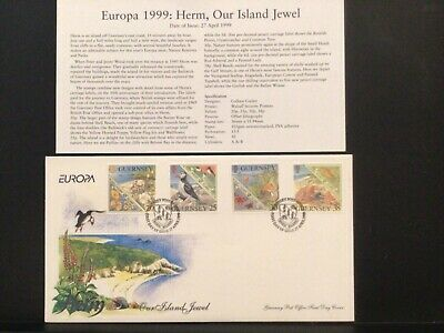 £0.99 • Buy Guernsey FDC 1999- Herm, Our Island Jewel