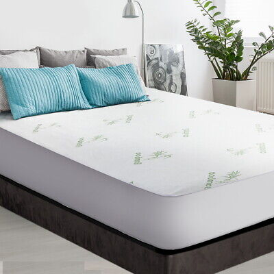 AU35.40 • Buy Giselle Bedding Giselle Bedding Bamboo Mattress Protector Double