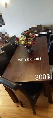 AU90 • Buy Used Furniture Dining Tables And Chairs