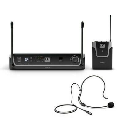 £142 • Buy LD Systems U308 BPH Wireless Stage Yoga Headset Microphone System With Receiver