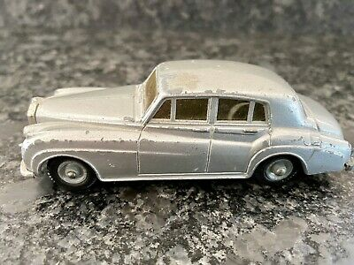 £6 • Buy Budgie Toys Rolls Royce Silver Cloud No.102 Early Tyred Vers. Vintage Diecast