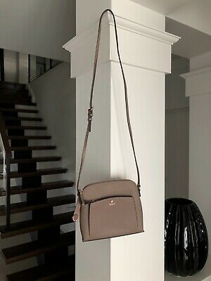 AU46 • Buy MIMCO Sublime Sling Hip Cross Body Bag. Taupe And Rose Gold