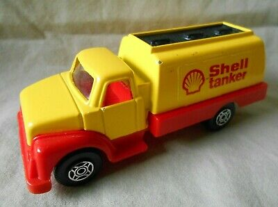 £9.85 • Buy Corgi Cubs R507 Yellow And Red Shell Fuel Tanker, Speedster Style Wheels