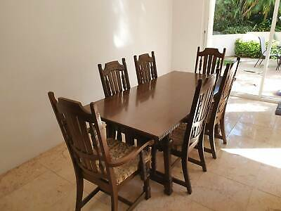 AU100 • Buy Period Dining Table And Chairs