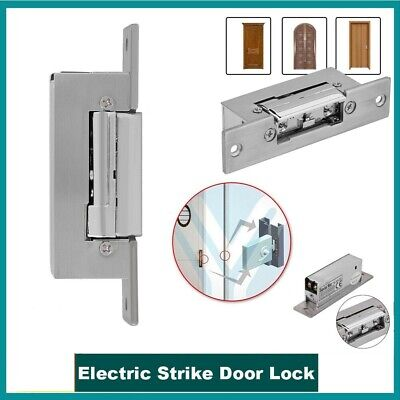 £19.99 • Buy 12V Fail Safe Electric Strike Lock Narrow-type Door For Access Control