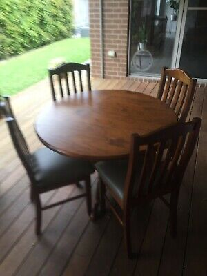 AU175 • Buy Pine Dining Table And Chairs