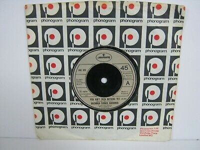 """£3.50 • Buy 7"""" Single BACHMAN TURNER OVERDRIVE YOU AIN'T SEEN NOTHING YET 7067"""