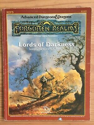 AU40 • Buy Lords Of Darkness - Dungeons And Dragons - TSR, Inc. - Softcover - 1988