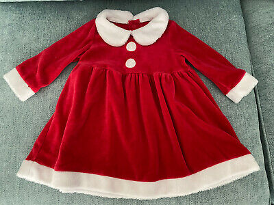 £3.50 • Buy Baby Christmas Dress 6-9 Months. Up To 20lbs 9kg. Mothercare.