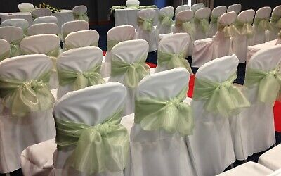 £50 • Buy Wedding Chair Covers And Sashes