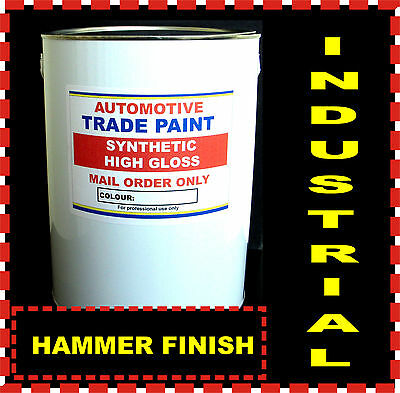 £69.44 • Buy HAMMER FINISH PAINT, CAR - COMMERCIAL & IND.RED 2.5lt