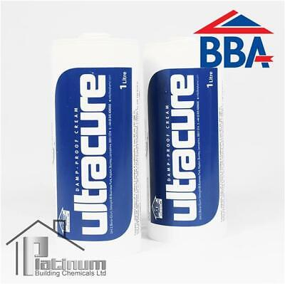 £36 • Buy ULTRACURE DPC Injection Cream 2 X 1L | Damp Proof Course Rising Damp Treatment