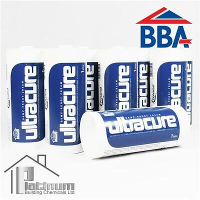 £123.80 • Buy ULTRACURE DPC Injection Cream 8 X 1L | Damp Proof Course Rising Damp Treatment