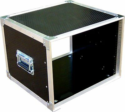 8U 19  Rack Sleeve Swan Flight Case For Studio Install (Hex) • 145.51£